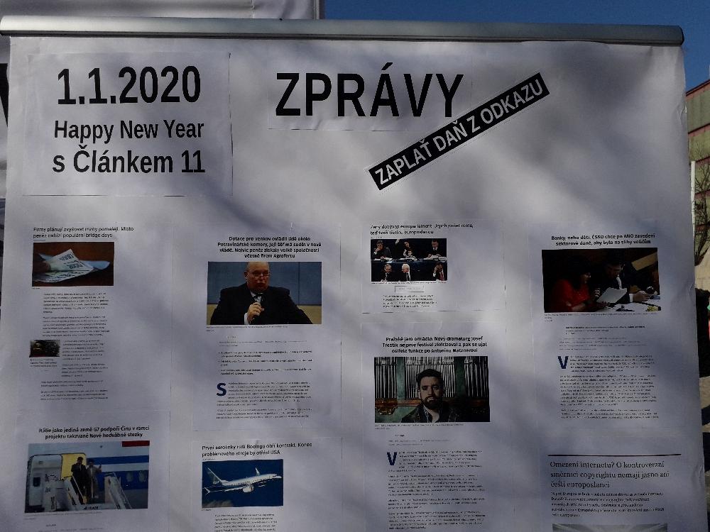 """""""Vorschau"""" auf die Nachrichten des Jahres 2020."""