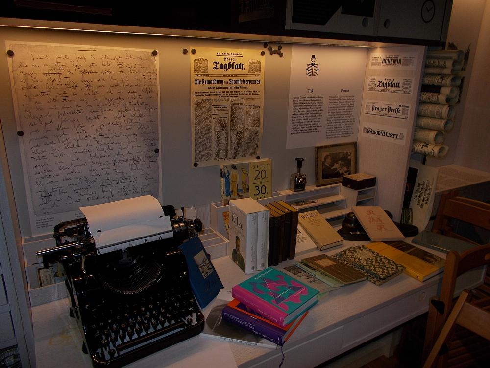 Auswahl an Rilkes Werken (Foto: 7/KK)