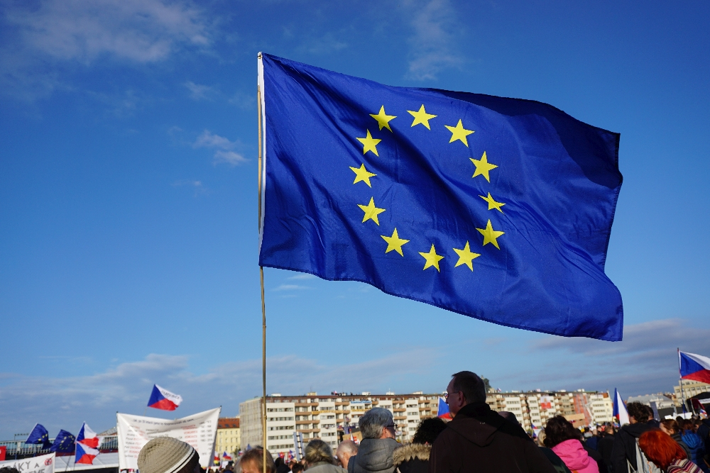 Tschechen sind für einen Verbleib in der EU, aber auch gegen Lobbyismus. Foto: K. Kountouroyanis