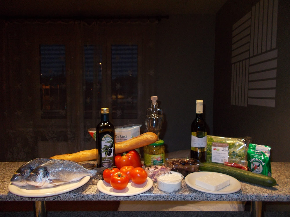 Ein Dinner for Two ist nicht schwer. Ich zeige Ihnen wie Sie in weniger als 30 Minuten mediterranes Ambiente in Ihr Esszimmer zaubern können.