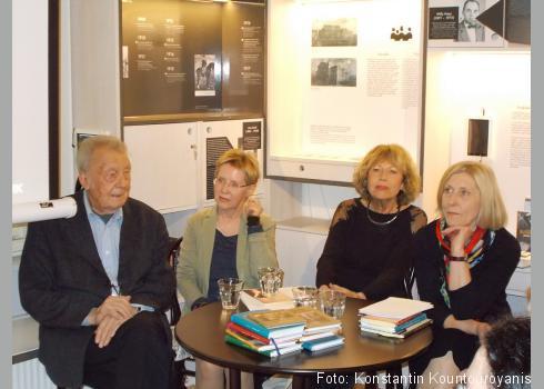 V.l.n.r.: František Černý, Angela Drescher, Anna Fodorová, Viera Glosíková