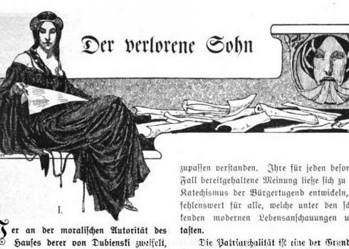 Aus fremden Zungen 1905: Der verlorene Sohn