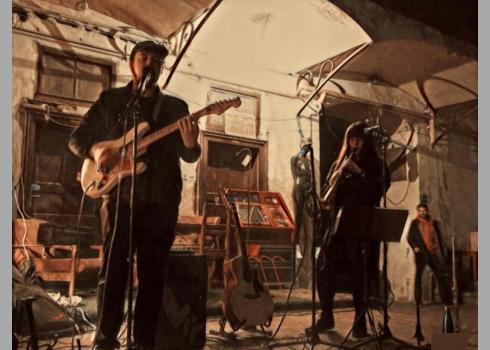 Hayley und Eric on stage. Foto: K. Kountouroyanis