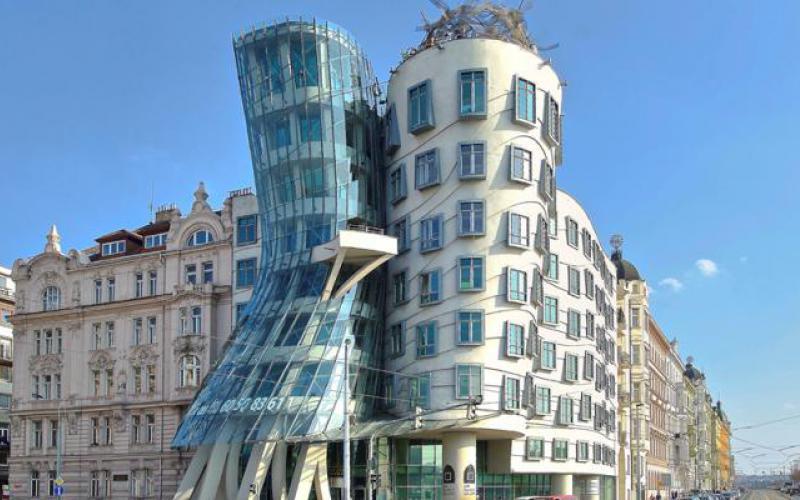 Vermietung von Büroräumen Tanzendes Haus Prag 2