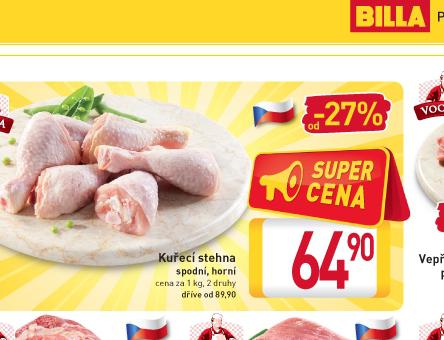 Billa-Werbeflugblatt
