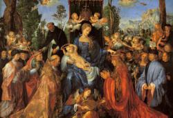 Das Rosenkranzfest, Albrecht Dürer, 1506