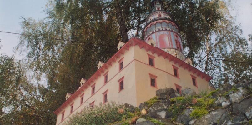 Schloss Český Krumlov (Modell im Park Boheminium)