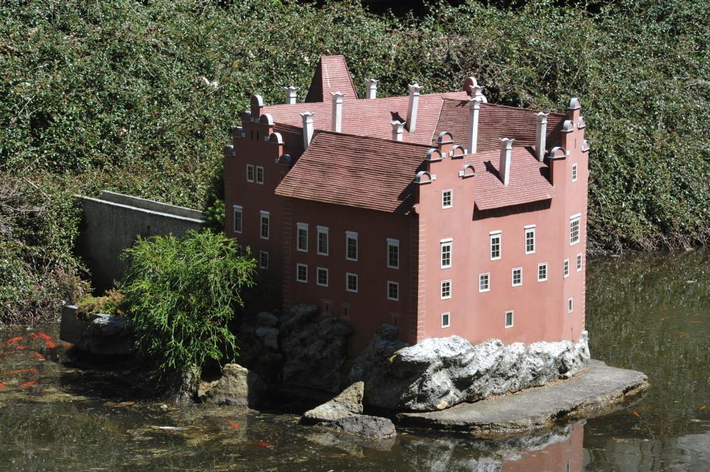 Schloss Červená Lhota (Modell im Park Boheminium)